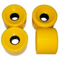 Ruedas SHR Dark Yellow 70 x 51 mm 78AA