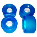 Ruedas SHR Translucent Blue 70 x 42 mm 80AA