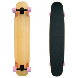 "Longboard Wood Bamboo Dancing Freestyle 9,25"" x 46,14"""