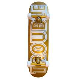 "Skateboard Trouble White Gold 8,0"" / 8,125"""