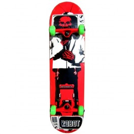 Skateboard Robot Skull Tv 8.0'' x 32""