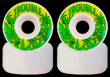 Trouble Weed Skateboard Wheels