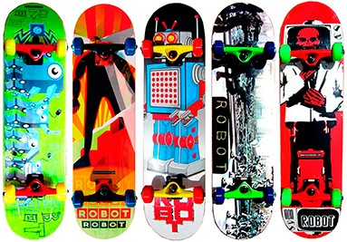 Robot Skateboards
