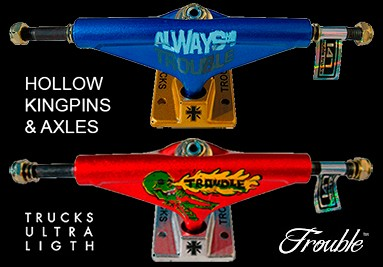 Trouble Ultra Light Skateboard Trucks